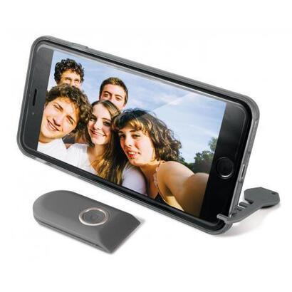 carcasa-selfie-ksix-con-mando-inalambrico-para-iphone-6-plus-negra