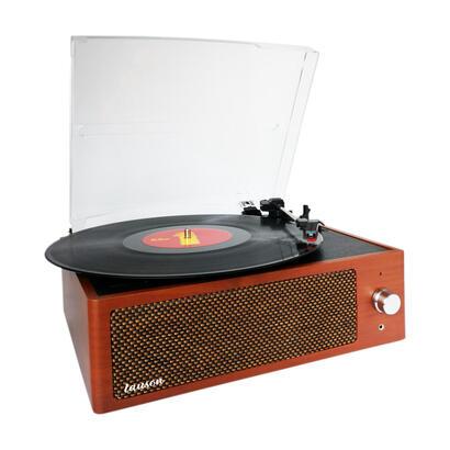 lauson-xn092-madera-tocadiscos-vintage-3-velocidades-bluetooth-usb-grabacion-mp3-fm