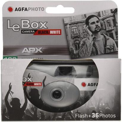 agfaphoto-camara-desechable-lebox-blanco-y-negro