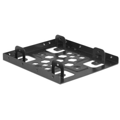 delock-21324-marco-de-instalacion-2x-25-a-35-aluminio-negro