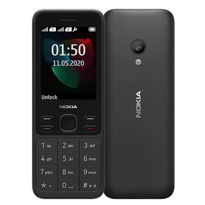 telefono-movil-nokia-150-2020-negro-display-24-6cm-camara-vga-dual-sim-slot-microsd-hasta-32gb-radio-fm-bibanda-bateria-1020mah