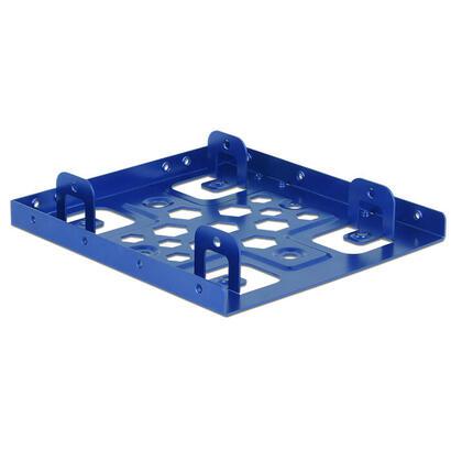 delock-marco-de-instalacion-2x-25-a-35-aluminio-azul