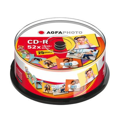 agfaphoto-cd-r-80-700mb-52x-cakebox-25-piezas