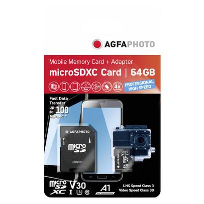 agfaphoto-microsdxc-uhs-i-64-gb-de-alta-velocidad-c10-u3-v30-adap