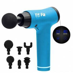 pistola-de-masaje-woxter-fit-gun-2-blue-6-cabezales-intercambiables-6-modos-vibracion-y-potencia-bateria-1800mah-display-tactil-