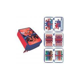 plumier-triple-giotto-premium-metalizada-spiderman