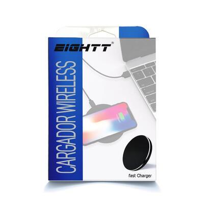 eighht-cargador-inalambrico-para-smartphone-negro