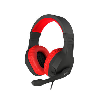 auriculares-con-microfono-genesis-argon-200-gaming-rojos-mini-jack-35mm-x2