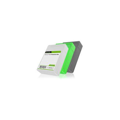 icy-box-ib-ac6025-3-set-3-funda-de-plastico-verde-gris-blanco-2x-25-ssdhd