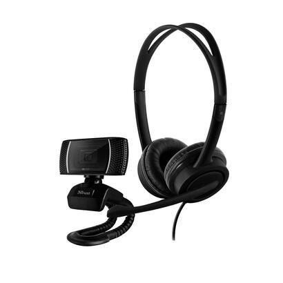 pack-2-en-1-trust-doba-home-office-set-webcam-hd-720p-auriculares-con-microfono-ajustable-conexion-usb