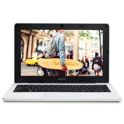 portatil-medion-notebook-education-e11201-md61958-w10-pro-academic-intel-n3450-11ghz-4gb-64gb-emmc-116-294cm-hd-rugerizado-blanc