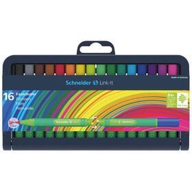 estuche-16-rotuladores-schneider-link-it-sh192092-trazo-escritura-1mm-cuerpo-triangular-ergonomico-colores-surtidos