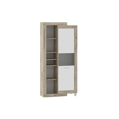 mueble-de-pared-tuckano-286x196x52-ultra-gris-roble-artesanal-blanco-brillo-iluminacion-opcional