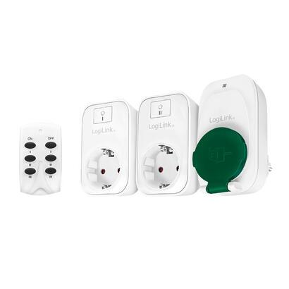 conjunto-de-enchufes-logilink-con-control-remoto-2x-interior-1x-exterior-blanco