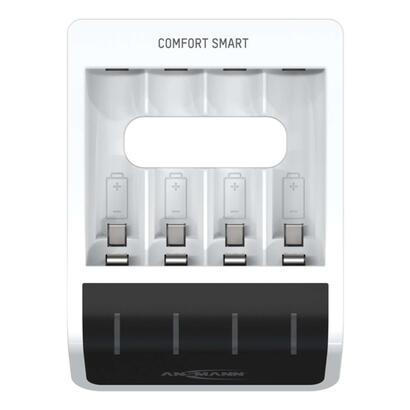 cargador-ansmann-comfort-smart-entrada-usb-para-1-4-nimh