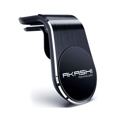 akashi-altmagalcar-negro-soporte-de-coche-de-rejilla-de-ventilacion-imantado-360