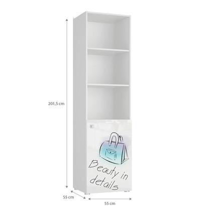 tuckano-estanteria-55x201x55-bella-04-blanco-blanco-brillo-estampado-bolso