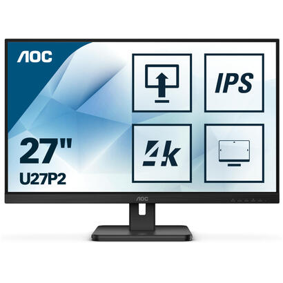aoc-u27p2-led-display-686-cm-27-3840-x-2160-pixeles-4k-ultra-hd-negro