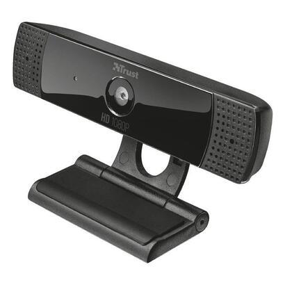 trust-gaming-webcam-con-microfono-full-hd1080p-8mp-gxt-1160-vero-streaming-enfoque-fijo-pedestal-con-pinza-cable-usb-15m
