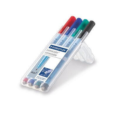 staedtler-rotuladores-lumocolor-correct-f-4st