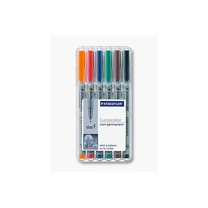 staedtler-rotuladores-lumocolor-f-nonperm-6st