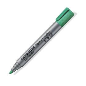 marcador-flipchart-staedtler-lumocolor-verde-10-piezas
