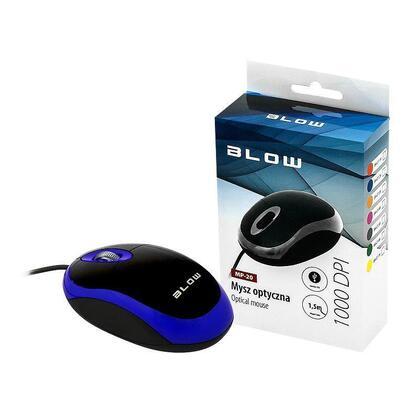 blow-raton-optico-mp-20-usb-blue