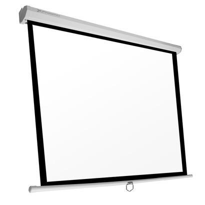 ocasion-phoenix-pantalla-manual-videoproyector-pared-y-techo-80-14m-x-14m-ratio-11-169-43-posicion-ajustable-pequena-abolladura-