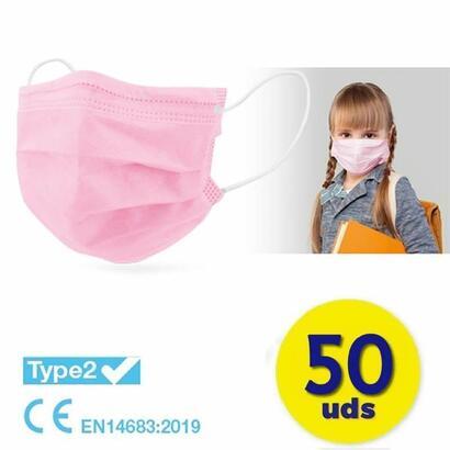 caja-de-mascarillas-quirurgicas-infantiles-iir-club-nautico-50-unidades-color-rosa-3-capas-eficacia-de-filtracion-bacteriana-98
