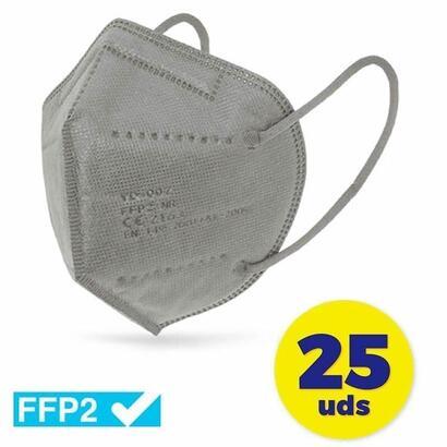 caja-de-mascarillas-ffp2-club-nautico-25-unidades-color-gris-envasadas-de-forma-individual-5-capas-proteccion