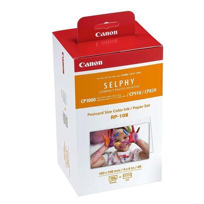 ocasion-embalaje-deteriorado-tinta-original-canon-multipack-rp-108-tinta-color-papel-fotografico-108-impresiones