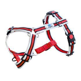 arnes-para-perros-reflective-dogwear-anti-pull-plus-s-rojo