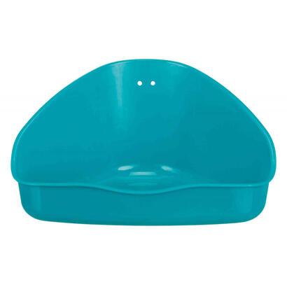 trixie-6254-pet-litter-box-hamster-open-litter-box-blue