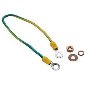 logilink-cable-de-tierra-03m-set-con-4-piezas-pvc-amarillo-verde