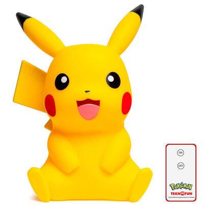 lampara-led-3d-pikachu-pokemon