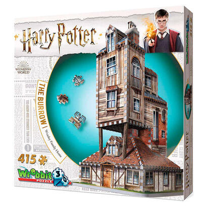 puzzle-3d-madriguera-weasley-harry-potter