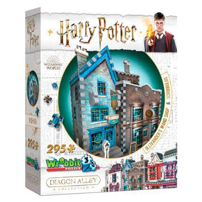puzzle-3d-tienda-de-ollivander-scribbulus-harry-potter