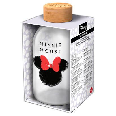 botella-cristal-minnie-disney-620ml