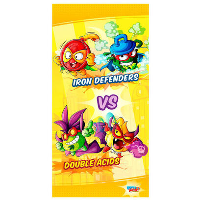 toalla-iron-defenders-vs-double-acids-super-zings-microfibra