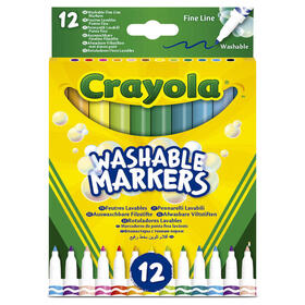 set-12-rotuladores-lavables-punta-fina-crayola