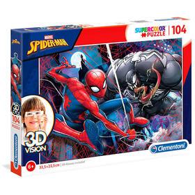 puzzle-3d-vision-spiderman-marvel-104pzs