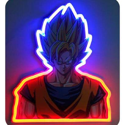 lampara-mural-neon-vegeta-dragon-ball-z