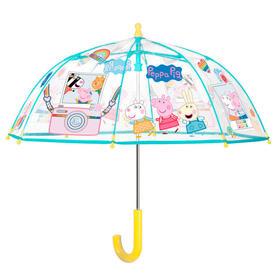 paraguas-manual-transparente-peppa-pig-42cm
