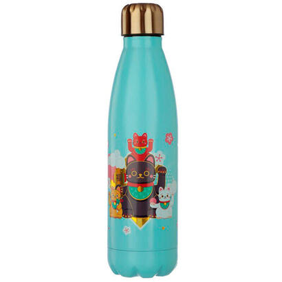 botella-acero-inoxidable-maneki-neko