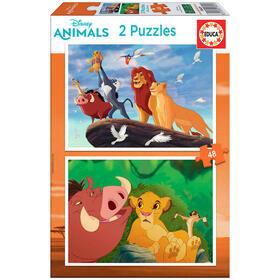 puzzle-el-rey-leon-disney-2x48pz