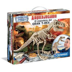 arqueojugando-t-rex-gigante
