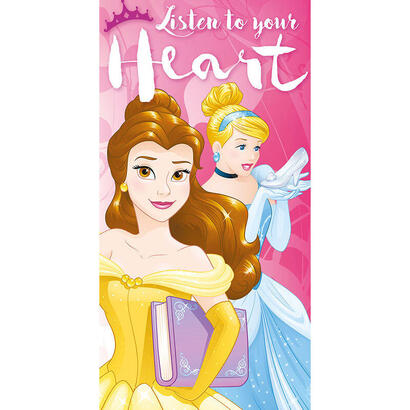 toalla-princesas-disney-listen-to-your-heart-algodon