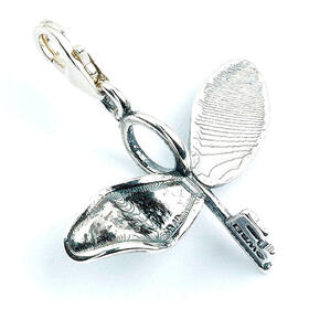 colgante-charm-flying-key-harry-potter-plata