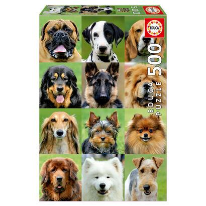 puzzle-collage-de-perros-500pz