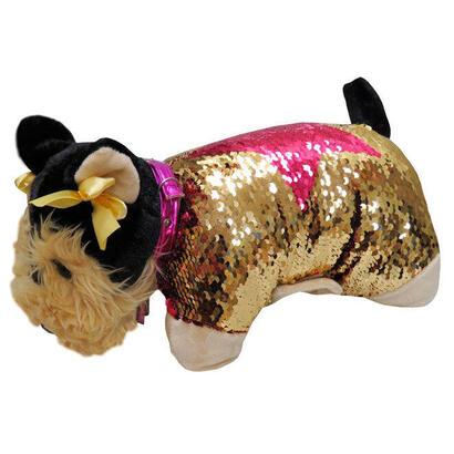 cojin-peluche-lentejuelas-yorkshire-doggie-star